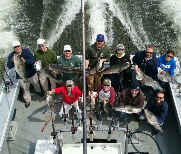 Raritan Bay Striper Fishing