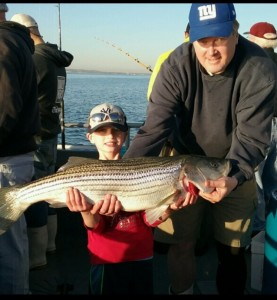 LIAM'S BIRTHDAY STRIPER THANKS TO OUR CLIENTS FOR ANOTHER GREAT DAY